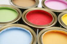 Coloured Paint