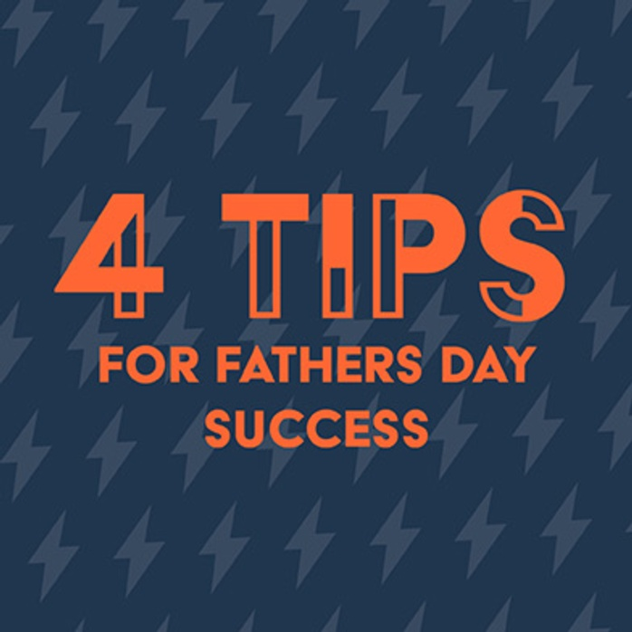 4 retail tips for Father's Day success