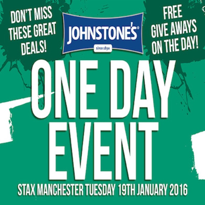 Johnstone's Day - Stax Manchester - Tuesday 19th January 2015