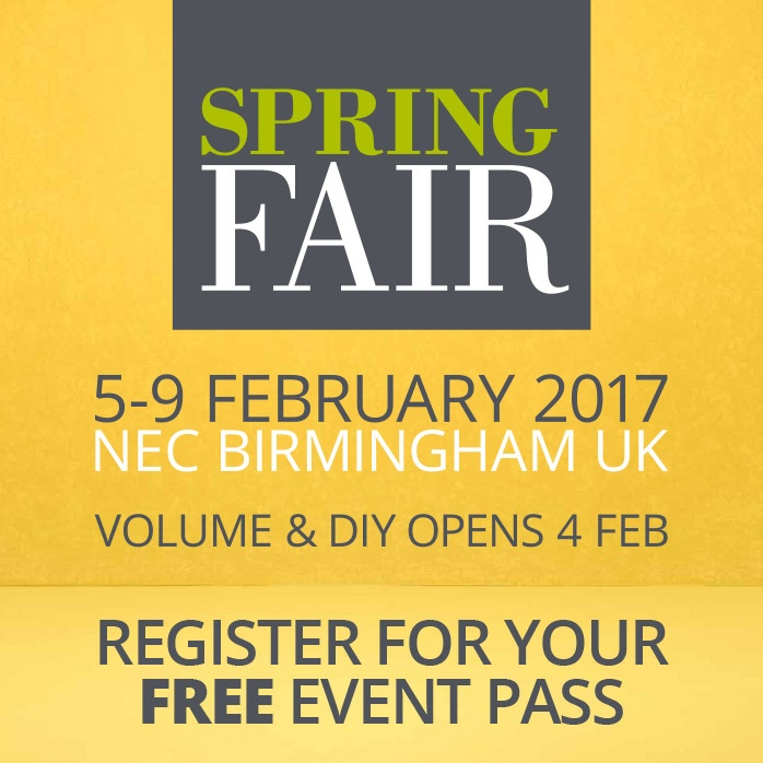 Spring Fair... Amazing Brands, Incredible Retailers