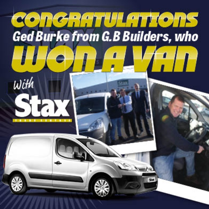 A Vantastic Win for Stax Trade Customer