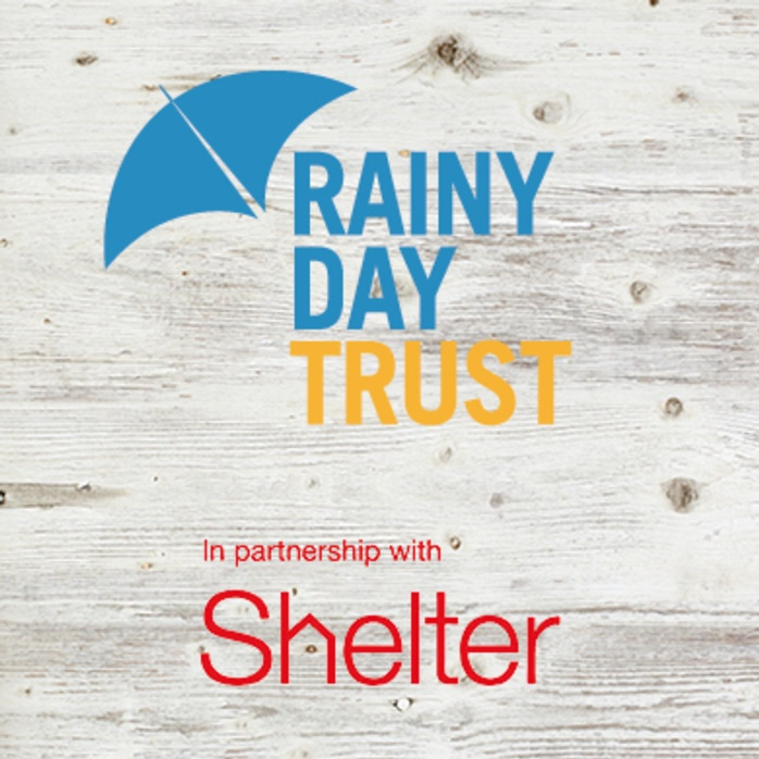 Rainy Day Trust launches specialist advice service with Shelter