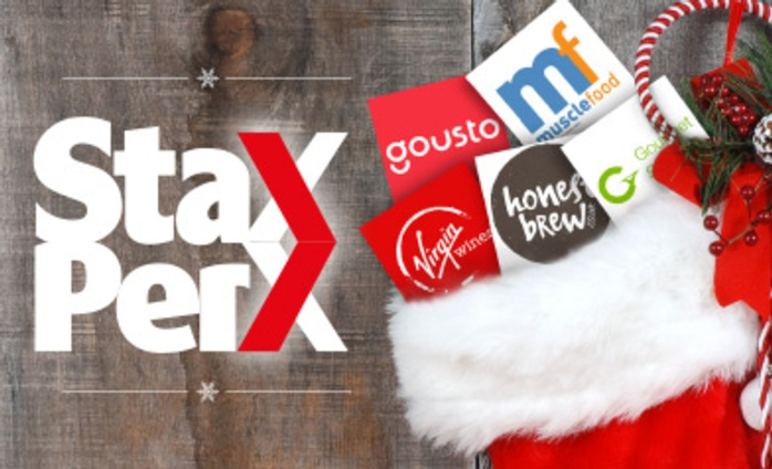 Christmas made easy with Stax Perx