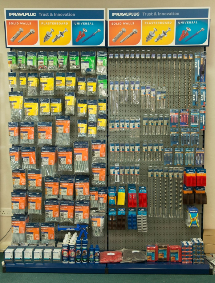 NEW: RAWLPLUG POINT-OF-SALE DISPLAYS