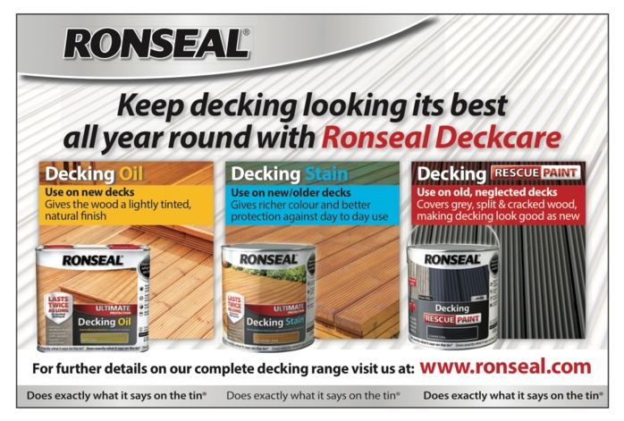 Check out Ronseal's fantastic Garden Paint at Big Brands 2016