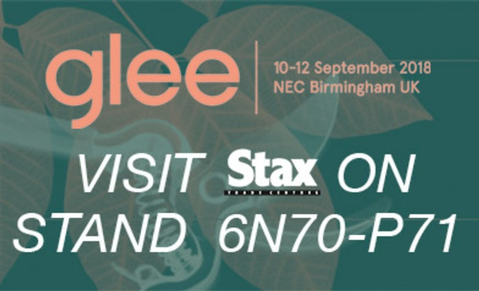 Visit Stax Trade Centres at Glee 2018 - 10th - 13th September